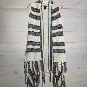 Torrid long sweater vest